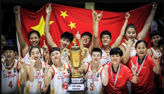 U18女篮亚青赛中国六连冠