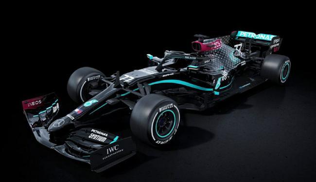 梅赛德斯的赛车将使用全黑涂装