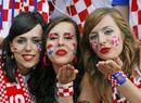 克罗地亚的美女球迷