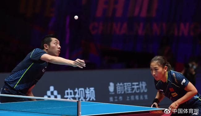 东京奥运会乒乓球混双强敌众多 昕雯做好硬仗准备