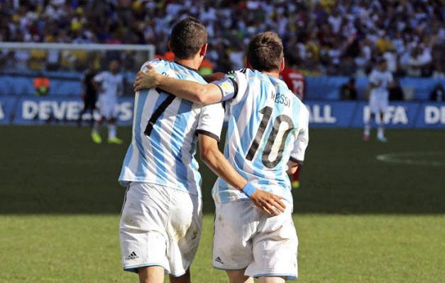 迪马利亚:美洲杯夺冠让梅西如释重负 心结打开了