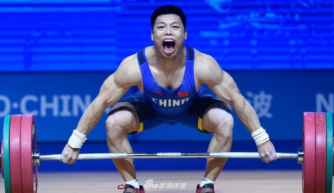 举重世锦赛男子67公斤谌利军夺冠 冯吕栋抓举称雄