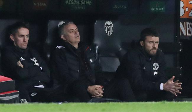 教练席上的穆里尼奥