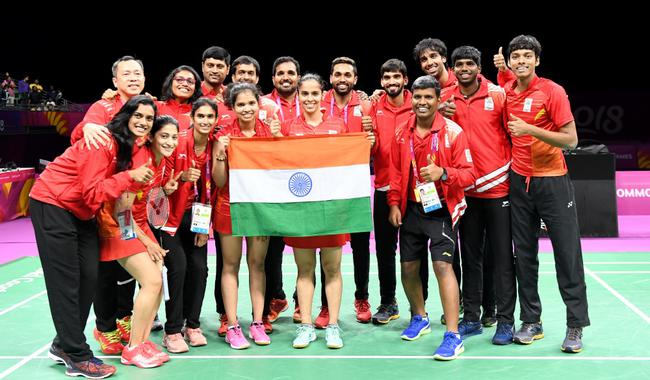 印度羽毛球队