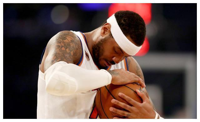 甜瓜似乎已经被NBA放弃了……