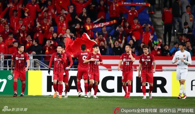 亚冠夺冠赔率:上港成最大热门 恒大第2权健第13
