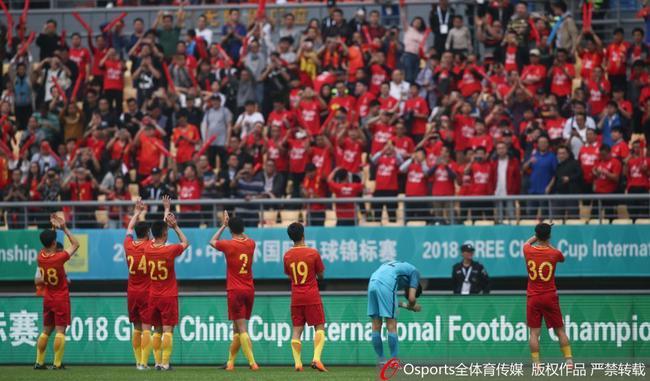 国足中国杯两战均惨败对手