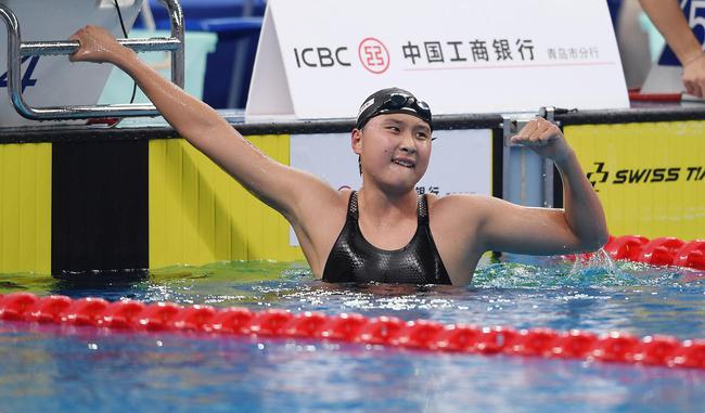 冠军赛王简嘉禾打破1500米亚洲纪录 领先亚军29秒
