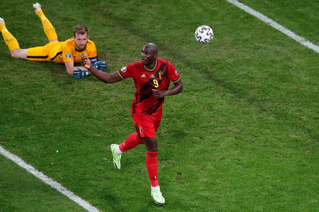 盧卡庫進球,比利時2-0