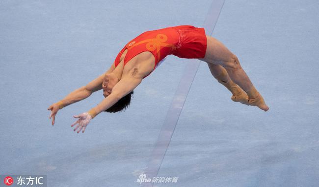 中国体操队无缘世界杯墨尔本站