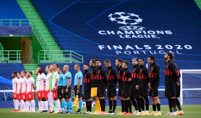 欧冠-莱比锡88分钟2-1绝杀马竞 半决赛将战巴黎