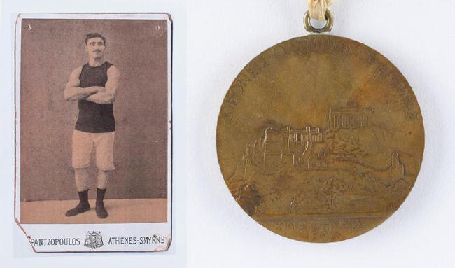 1896首届奥运会奖牌被拍卖 冠军获银牌亚军获铜牌