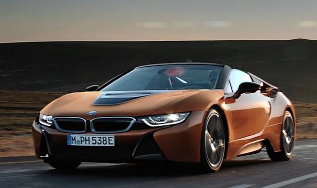 创新BMW i8敞篷跑车