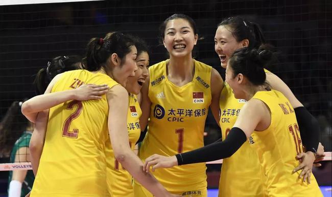 中国女排3-0保添利亚