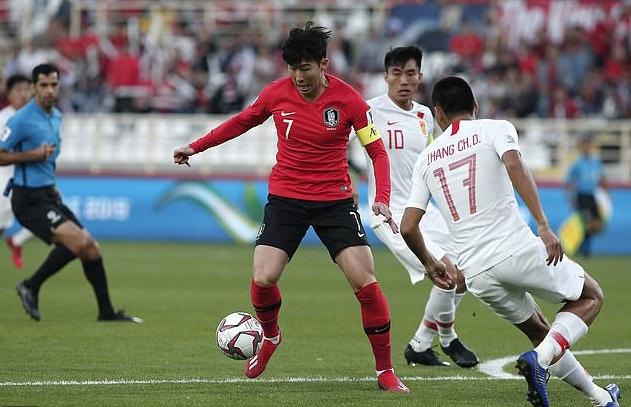 孙兴慜离队征战亚洲杯