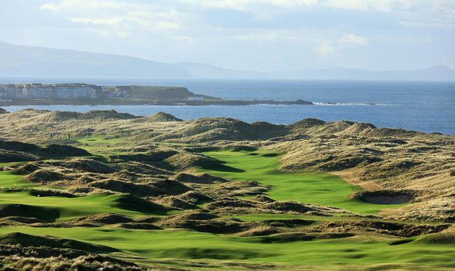 景色壮观的皇家波特拉什高尔夫俱乐部