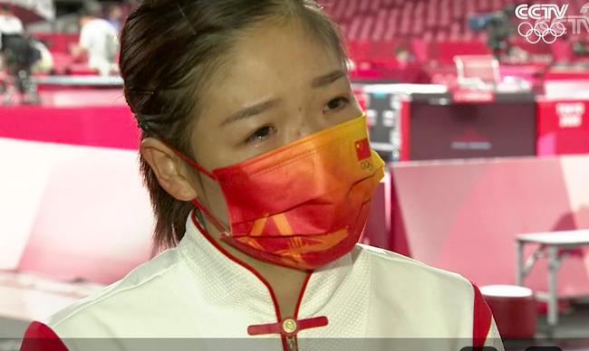 刘诗雯赛后落泪:对不起大家 很想完成好任务