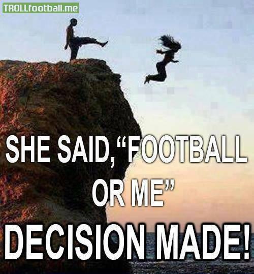 足球还是女友?