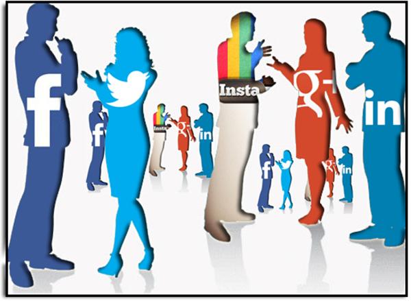 社交媒体中,人们表达情感的编制差别
