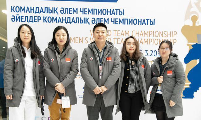 中国国象女队主教练余少腾:完美!队员们太出色