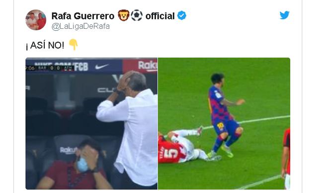 【博狗扑克】争议!梅西踩对手脚踝 C罗好友记者:他应被罚下