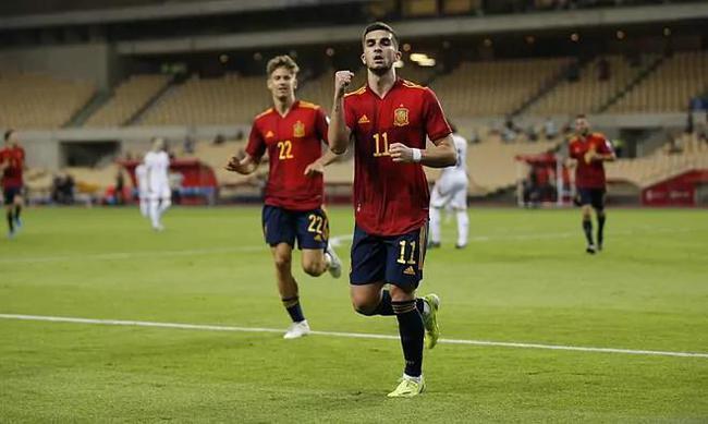 世预赛-曼城边锋连场进球 巴萨双星助攻西班牙3-1