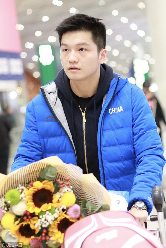 樊振东已回到北京