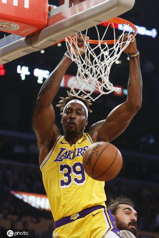 老霍3球打回巅峰魔兽!湖人NBA第五的数据谢他
