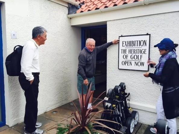 高尔夫传承展览现在开门