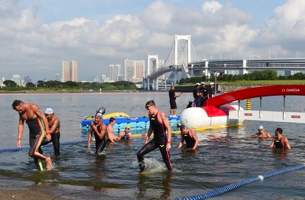 东京奥运游泳水域臭得像厕所 大肠杆菌超标2倍