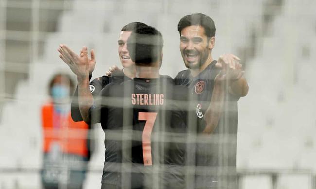 【博狗扑克】欧冠-丁丁两助攻 斯特林传射 曼城客场3-0胜马赛