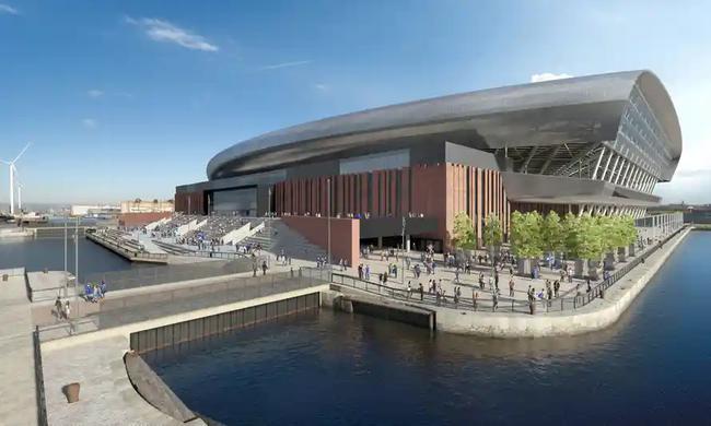 埃弗顿滨海新主场规划获批 造价5亿镑 容量超5万