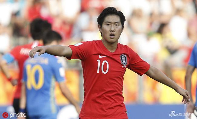 韩国队获得世青赛亚军