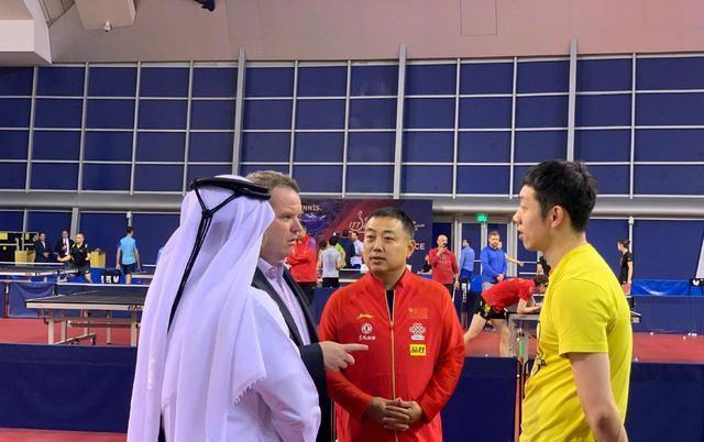 国乒在卡塔尔训练