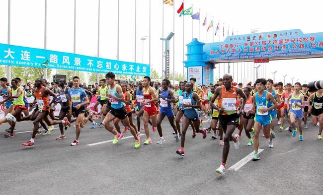 大连马拉松男子前三均破赛会纪录,孙家辉夺国内第一。