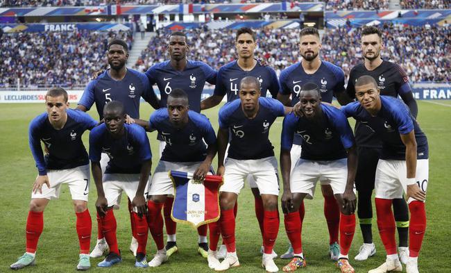法国首发11人