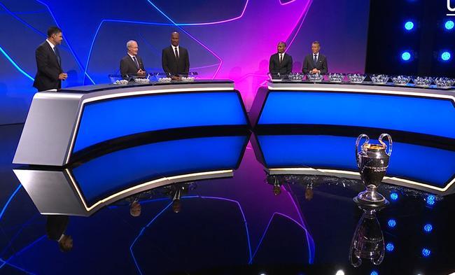 欧冠抽签:C罗遇梅西 曼联巴黎死亡组 皇马碰国米