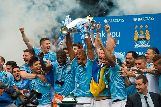 曼城2014年赢得了英超冠军