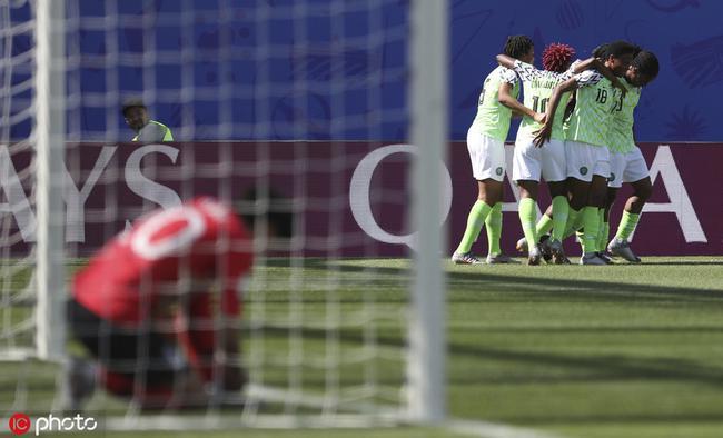 女足世界杯-金度妍乌龙悍将单刀 尼日利亚2-0韩国