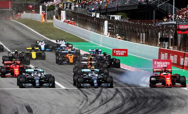 F1西班牙站发车