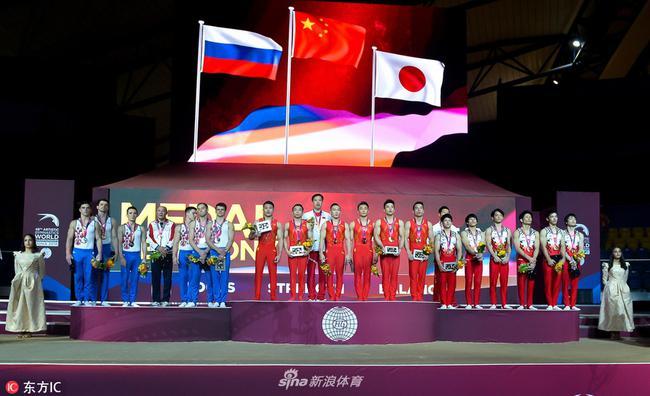 上届世锦赛中国男团夺冠