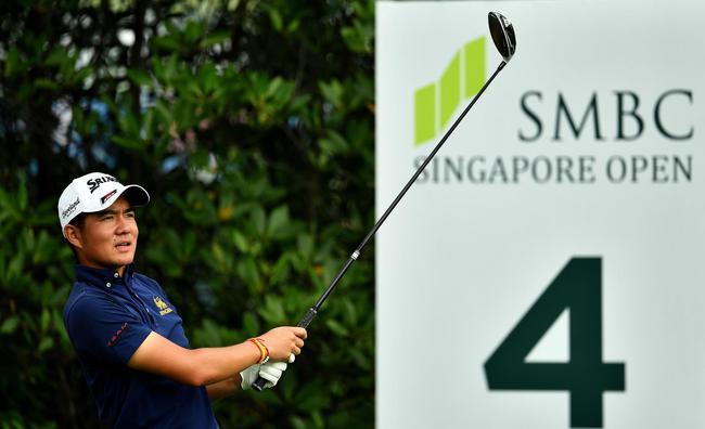 新加坡公开赛首轮因雷雨未完赛 罗斯T9梁文冲T33