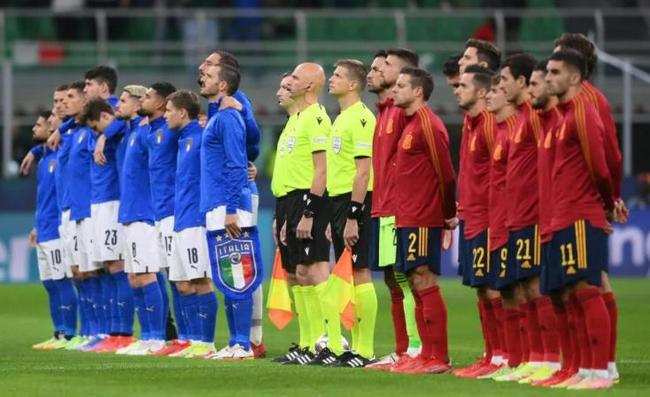 欧国联-曼城前锋双响 10人意大利1-2不敌西班牙