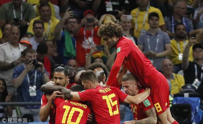 比利时淘汰巴西