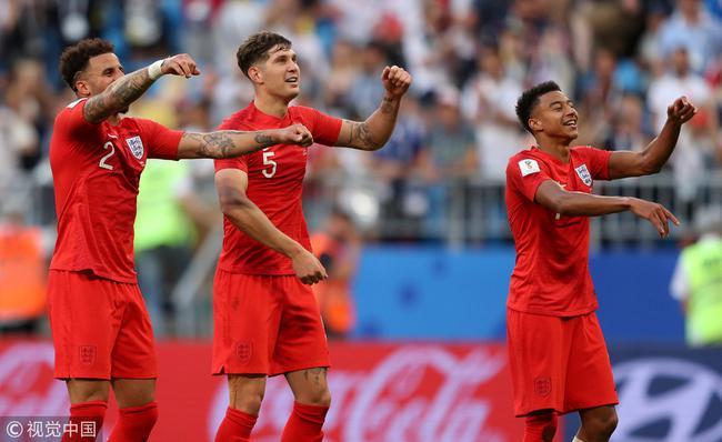 英格兰队善举!捐出世界杯奖金