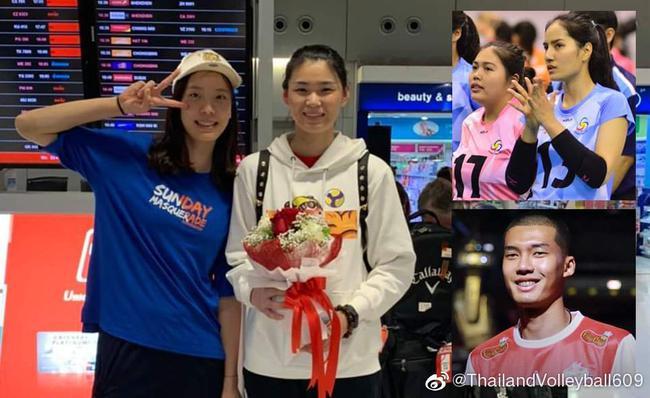 杜清清抵达泰国