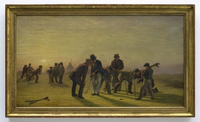 高尔夫收藏与历史之45:淡出视野一个半世纪的绘画