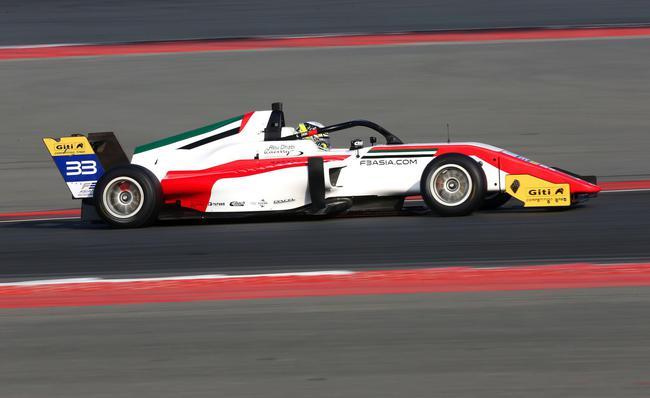 亚洲F3锦标赛新赛季揭幕 23台赛车逐鹿迪拜赛车场