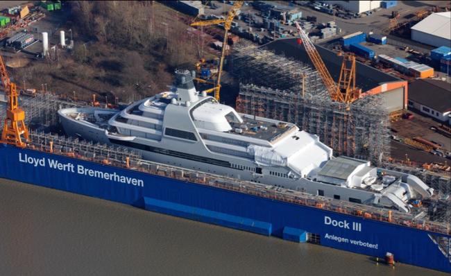 壕!切尔西老板新游艇造价4.3亿镑 个人名下第8艘