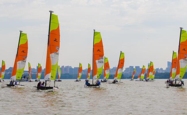 2019中國家庭帆船賽武漢站啓航